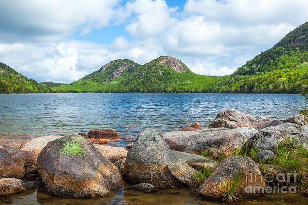 Photograph - The Bubbles Over Jordan Pond In Acadia  by Susan Cole Kelly
