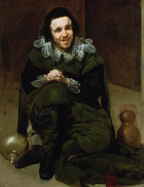 Wall Art - Photograph - The Buffoon Calabacillas, Mistakenly Called The Idiot Of Coria, 1639 Oil On Canvas by Diego Rodriguez de Silva y Velazquez