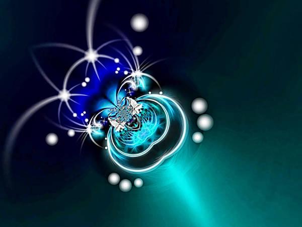 Blue Bug Digital Art - The Bug by Wendy J St Christopher