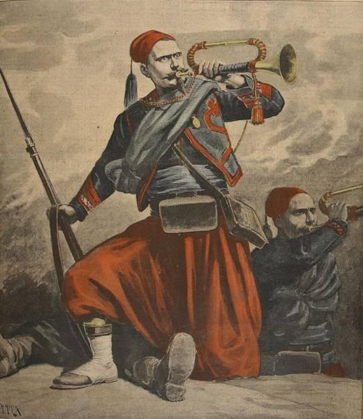 Bugling Wall Art - Drawing - The Bugles Of Malakoff, Illustration by Henri Meyer