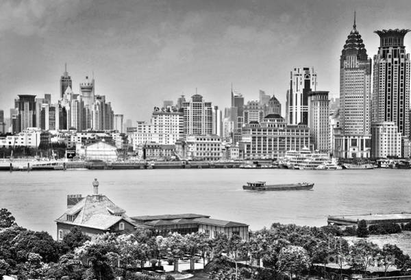 Wall Art - Photograph - The Bund by Delphimages Photo Creations