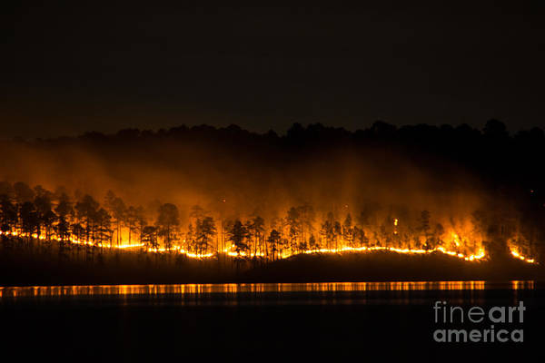 Photograph - The Burn by Jim McCain