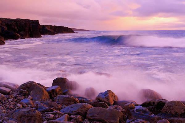 The Burren Photograph - The Burren Coastline Near Doolin by Richard Cummins / Robertharding