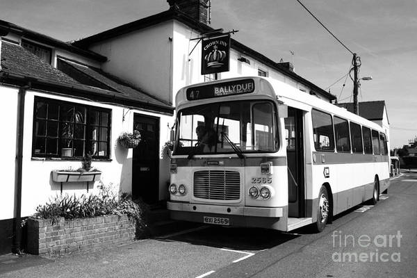 Autobus Photograph - The Bus To Ballyduff  by Rob Hawkins