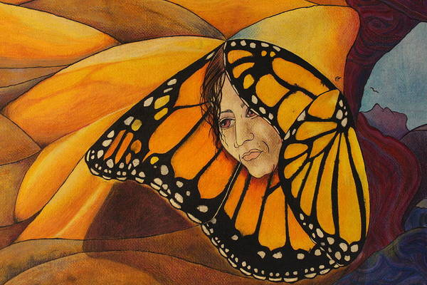 Dune Mixed Media - The Butterfly Effect II by J Tanner