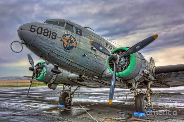 Wall Art - Photograph - The C-47 Skytrain by Lee Dos Santos