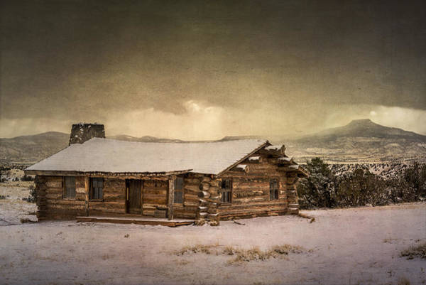 Photograph - The Cabin At Ghost Ranch by Lou  Novick