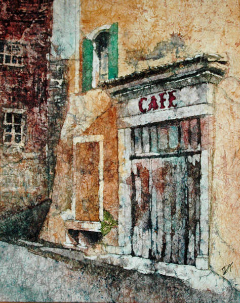 Painting - The Cafe Is Closed by Diane Fujimoto