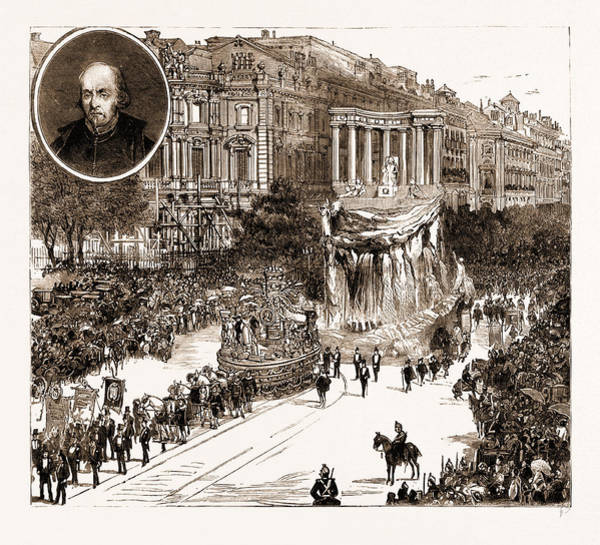 Wall Art - Drawing - The Calderon Bicentenary At Madrid, Spain by Litz Collection