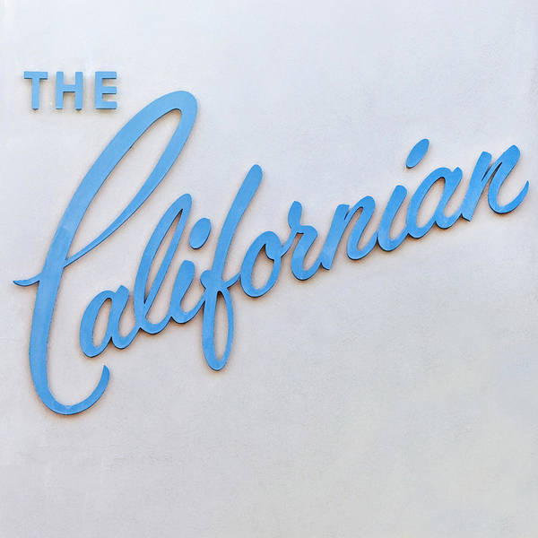 Cursive Photograph - The Californian by Art Block Collections
