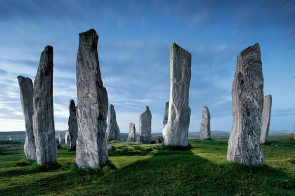 Wall Art - Photograph - The Callanish Standing Stones, Cut by Jim Richardson