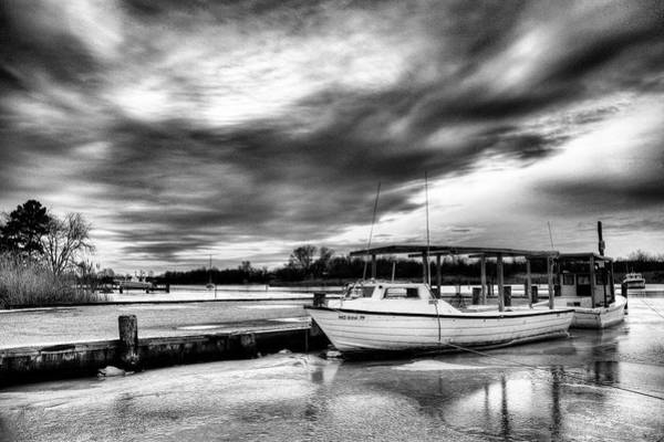 Work Boat Photograph - The Calm Before by JC Findley