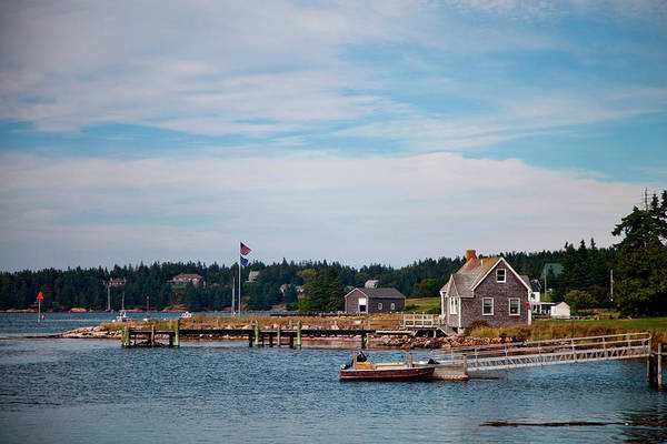 Acadia National Park Wall Art - Photograph - The Calm Inlet Waters Off The Coast by Michael Hanson