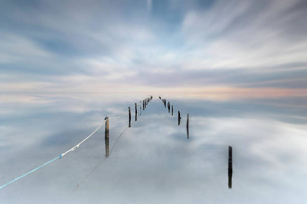 Vanishing Point Wall Art - Photograph - The Calm by Joaquin Guerola