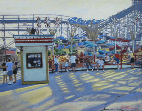 County Fair Painting - The Calypso by David Zimmerman