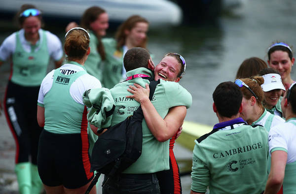 Sport Photograph - The Cancer Research Uk Boat Race 2018 by Jordan Mansfield