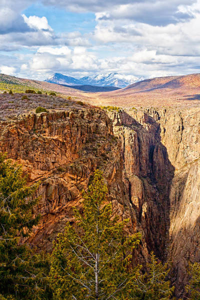 Photograph - The Canyon And Beyond by Rick Wicker