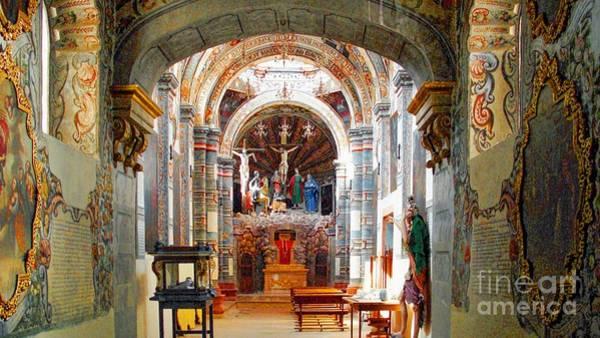 Photograph - The Capilla Del Santo Sepulcro by John  Kolenberg