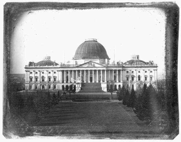 Wall Art - Photograph - The Capitol, C1846 by Granger