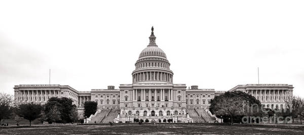 Wall Art - Photograph - The Capitol by Olivier Le Queinec