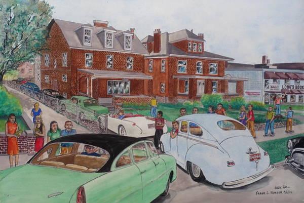 The Car Movers Of Phi Sigma Kappa Osu 43 E. 15th Ave Art Print