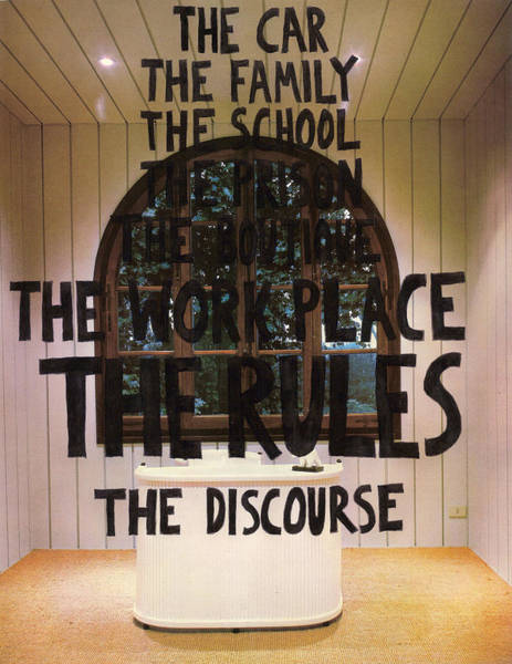 Capitalism Mixed Media - The Car The Family The School The Prison The Boutique The Work Place The Rules The Discourse by Neil Campau