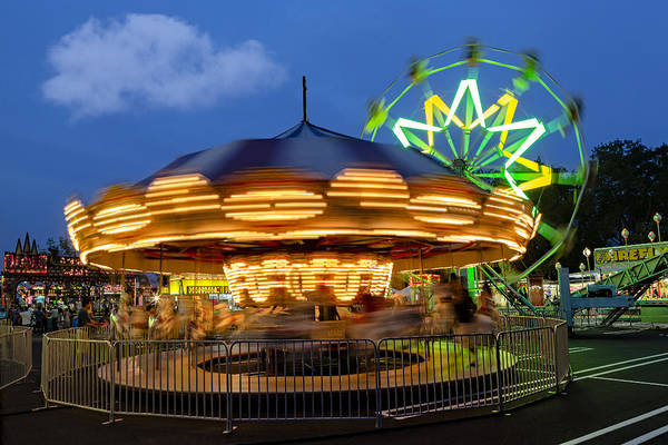 Photograph - The Carnival Is In Town by Susan Candelario