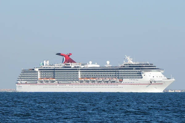 Photograph - The Carnival Legend by Bradford Martin