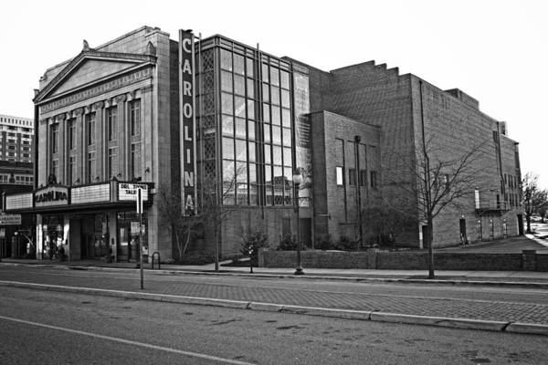 Photograph - The Carolina Theatre Of Greensboro by Ben Shields