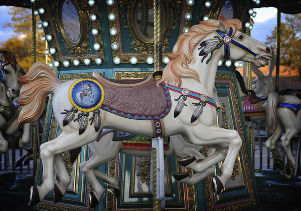 Photograph - The Carousel Smithville New Jersey by Terry DeLuco