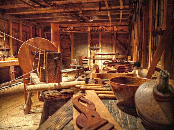 Photograph - The Carpenter's Tools  by Richard Reeve