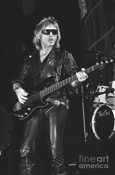 Bassist Wall Art - Photograph - The Cars Benjamin Orr by Concert Photos