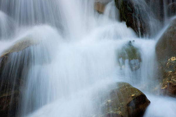Eastern Europe Wall Art - Photograph - The Cascades In The Valley Of River by Martin Zwick