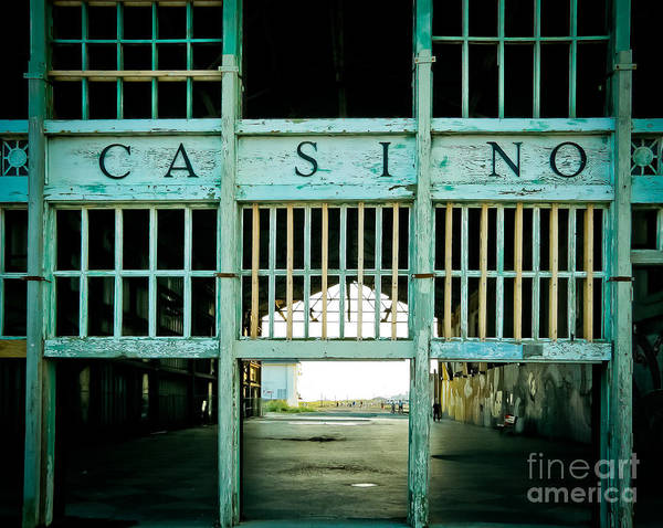 Hue Photograph - The Casino by Colleen Kammerer