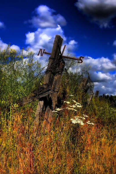 Photograph - The Castle Fence Line by David Patterson