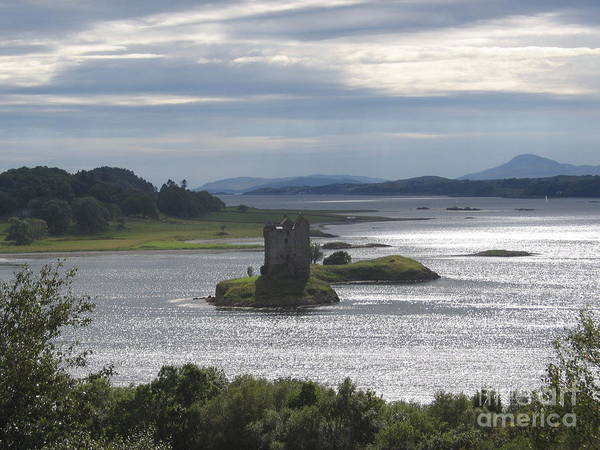 Photograph - The Castle On The Loch by Denise Railey