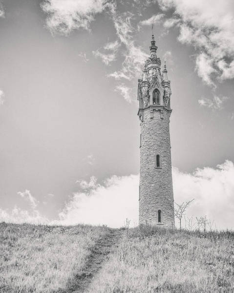 Ornate Photograph - The Castle Tower by Scott Norris