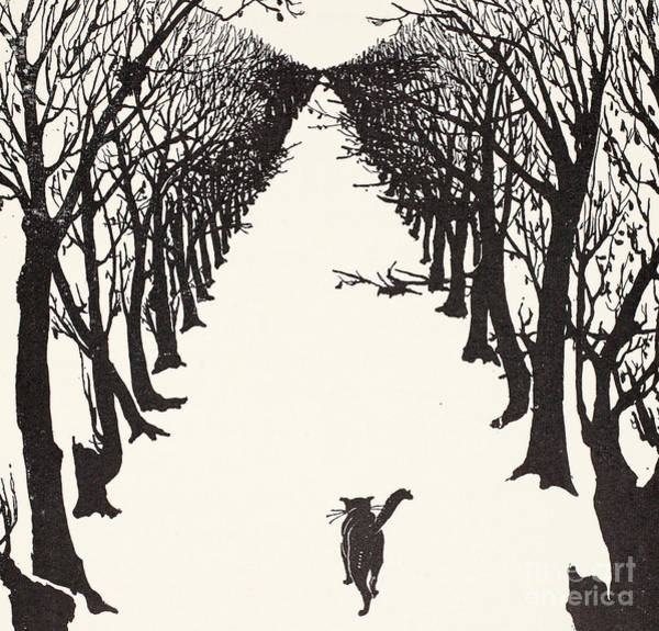 Walk Painting - The Cat That Walked By Himself by Rudyard Kipling