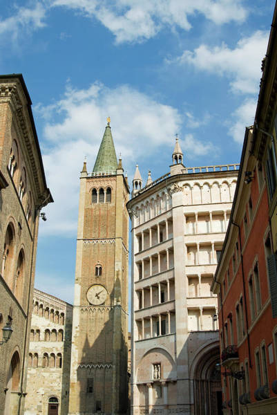 Bell Tower Photograph - The Cathedral And The Baptistery by Nico Tondini