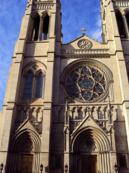 Photograph - The Cathedral Basilica Of The Immaculate Conception 3 by Angelina Tamez