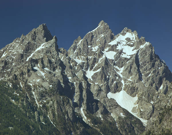 Photograph - 309255-the Cathedral Group, Tetons, Wy by Ed  Cooper Photography