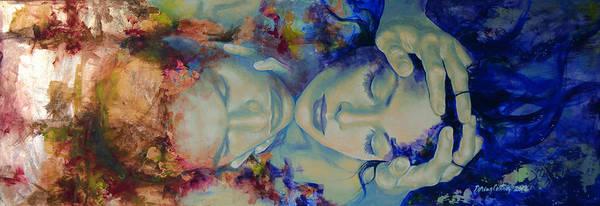 Wall Art - Painting - The Celestial Consonance by Dorina  Costras