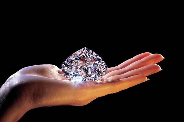 Mining Photograph - The Centenary Diamond by Patrick Landmann