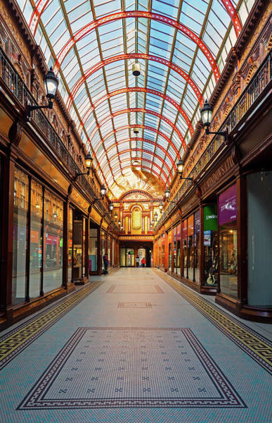 Busker Wall Art - Photograph - The Central Arcade Is An Elegant by Panoramic Images