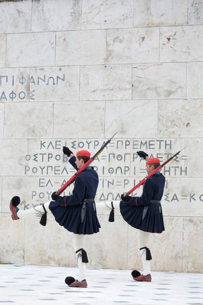 Rifle Photograph - The Ceremonial Changing Of The Guards by Chris Mellor