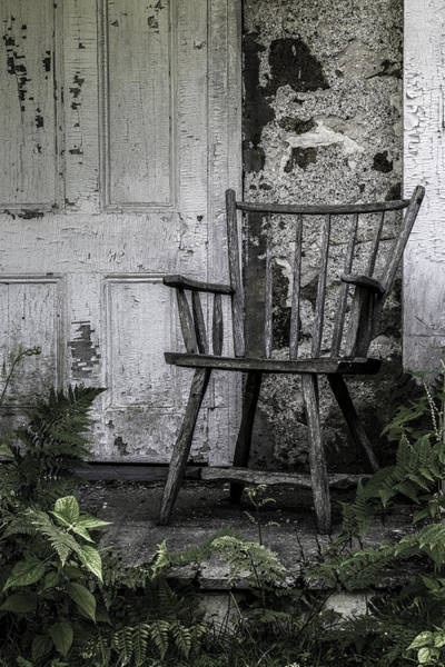 Photograph - The Chair by Sara Hudock
