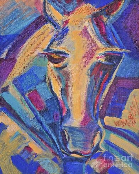 Horsemanship Painting - The Champion by Angela Maher