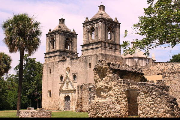 Wall Art - Photograph - The Chapel Of Mission Concepcion by Charles Rogers