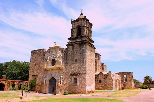 Wall Art - Photograph - The Chapel Of Mission San Jose by Charles Rogers