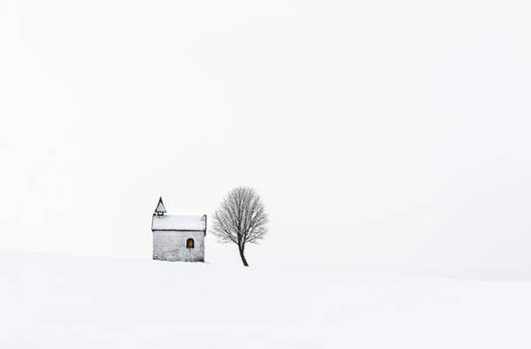 Alone Photograph - The Chapel by Tom Meier